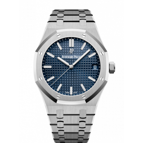 AUDEMARS PIGUET ROYAL OAK STEEL BLUE DIAL 41MM 15500ST.OO.1220ST.01
