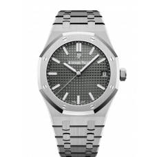 AUDEMARS PIGUET ROYAL OAK STEEL BLACK DIAL 41MM 15500ST.OO.1220ST.03