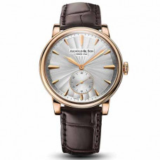 Arnold & Son HMS1 Guilloché Rose Gold