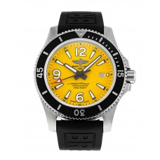 BREITLING SUPEROCEAN STAINLESS STEEL AUTOMATIC 44 YELLOW - A17367