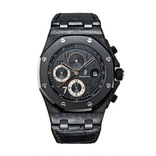 AUDEMARS PIGUET ROYAL OAK OFFSHORE CHRONOGRAPH FORGED CARBON 'GINZA 7' LIMITED EDITION OF 200PCS. 42MM - 26205AU.OO.D002CR.01