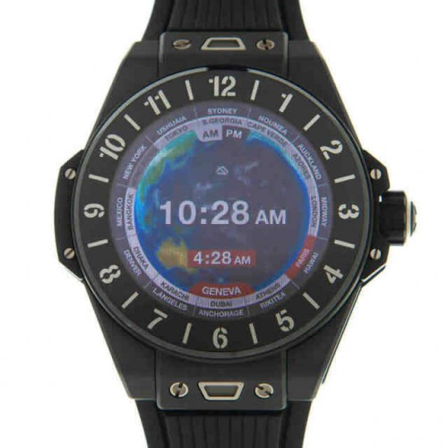 HULOT BIG BANG E BLACK CERAMIC (SMART WATCH) 42MM - 440.CI.1100.RX