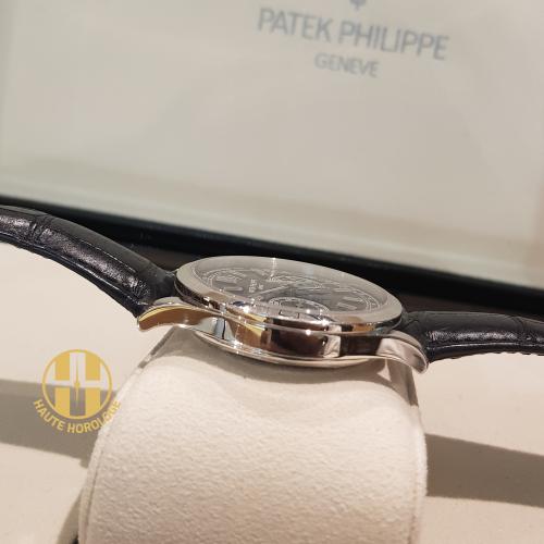 PATEK PHILIPPE COMPLICATION CHRONOGRAPH PLATINUM BLUE DIAL 39.4MM - 5170P-001