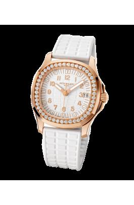 Patek Philippe Aquanaut Ladies Rosegold 35.6mm Diamonds 5068r-001