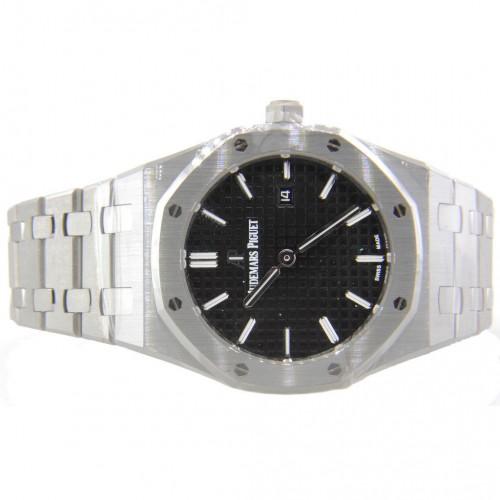 Audemars Piguet Royal Oak Quartz Steel Black Dial 33mm 67650ST.OO.1261ST.01