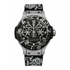 Hublot Big Bang Broderie Stainless Steel Diamonds 343.sx.6570.nr.0804