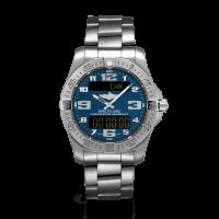 Breitling Aerospace Evo Titanium Mariner Blue