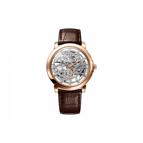 Harry Winston Midnight Skeleton Rosegold