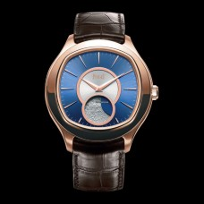 Piaget Emperador Moonphase Cushion Shape Rose Gold Auto