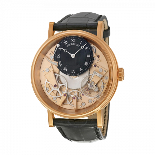 Breguet Tradition Black and Champagne Skeleton