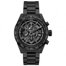 Tag Heuer Carrera Calibre Heuer 01 Black Dial Automatic Chronograph