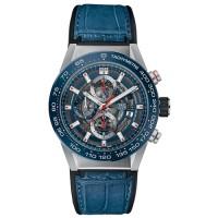 Tag Heuer Carrera Calibre Heuer 01 Blue Dial Automatic Chronograph