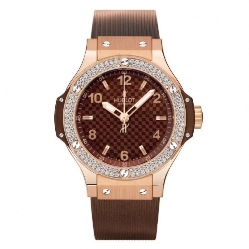 Hublot Big Bang Cappuccino Gold Diamonds 361.pc.3380.rc.1104