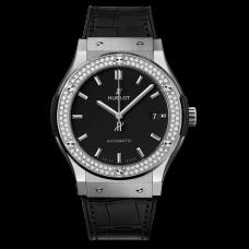 Hublot Classic Fusion Titanium Diamonds -511.nx.1171.lr.1104