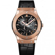 Hublot Classic Fusion Ultra-thin Skeleton King Gold 515.ox.0180.lr