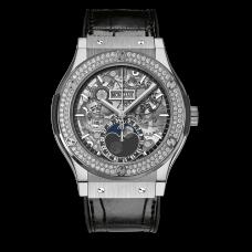 Classic Fusion Aerofusion Moonphase Titanium Diamonds - 517.nx.0170.lr.1104