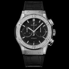 Hublot Classic Fusion Chronograph Titanium Diamonds  521.nx.1171.lr.1104