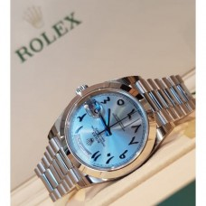 Rolex Day-date Platinum Hindi/arabic Dial Special Edition,  228206