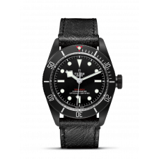 TUDOR HERITAGE BLACK BAY DARK 41MM STEEL BLACK PVD-TREATED COATING - 79230DK