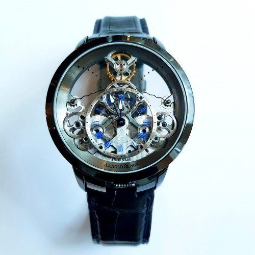ARNOLD AND SON TIME PYRAMID 44.6MM - 1TPAS.S01A.C124S