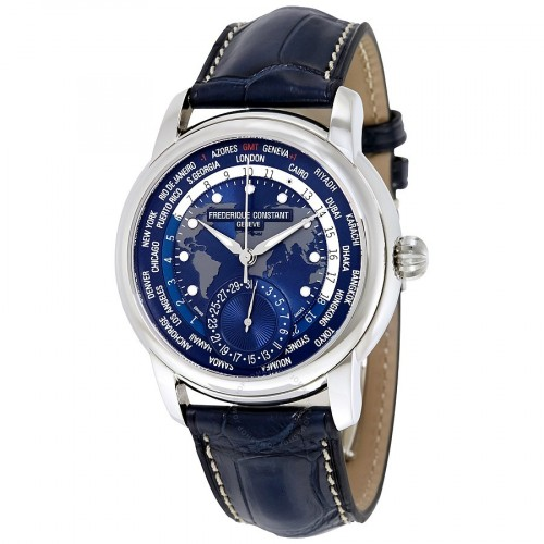 Frederique Constant World Timer Blue Dial
