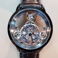 Arnold And Son Time Pyramid DLC All Black 1PCS.SO5A