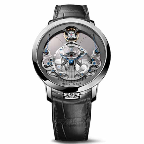 Arnold & Son Time Pyramid Stainless Steel