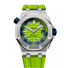 Audemars Piguet Royal Oak Offshore 42mm Lime green special edition 15710ST.OO.A038CA.01