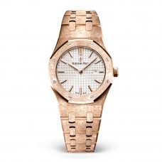 AUDEMARS PIGUET ROYAL OAK FROSTED ROSE GOLD 33MM  67653OR.GG.1263OR.01