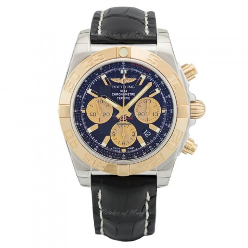 Breitling Chronomat Steel & Gold Onyx
