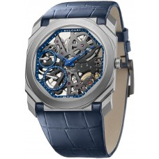 BVLGARI OCTO FINISSIMO 40MM BLUE 200PCS LIMITED EDITION 102941