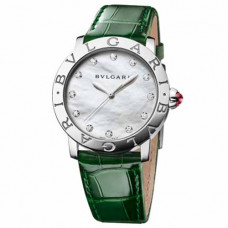 Bvlgari Lady White Mother of Pearl Dial