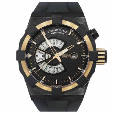 Concord C1 World Timer DLC Black Dial