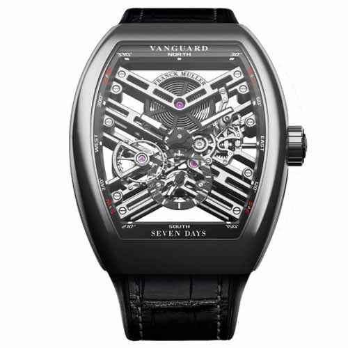 Franck Muller Skeleton Steel