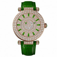 Franck Muller Double Mystery Green Pave