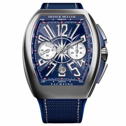 Franck Muller Yatching Chronograph Blue Dial