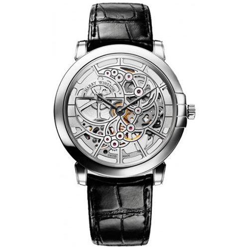 Harry Winston Midnight Skeleton Black