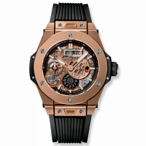 Hublot Big Bang Meca 10 King Gold Black