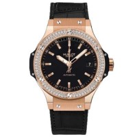 Hublot Classic Fusion Rose Gold Diamonds Auto 38MM