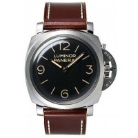 Panerai Luminor 3 Days Acciaio Dark Brown
