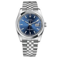 Rolex Datejust Stainless Steel Jubilee Blue Dial