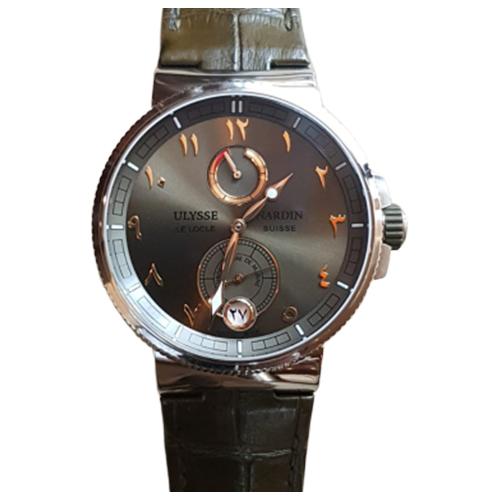 Ulysse Nardin Marine Chronometer Green Dial Eastern Arabic Numerals