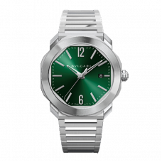 BVLGARI OCTO L'ORIGINALE STAINLESS STEEL GREEN DIAL AUTOMATIC 41MM - 102660