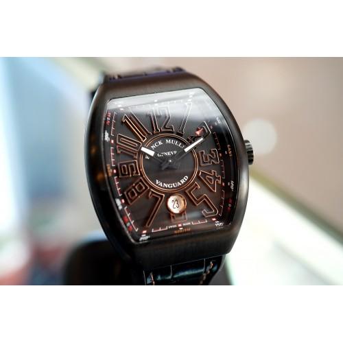 Franck Muller Vanguard Black Titanium and Rose Gold 41 mm - V 41 SC DT TT BR NR 5N