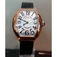 Franck Muller Heart Rose Gold Silver Dial 5002 L QZ