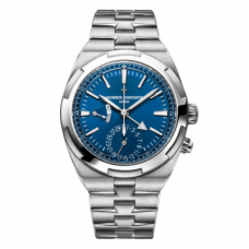 VACHERON CONSTANTIN OVERSEAS DUAL TIME STAINLESS STEEL AUTOMATIC 41MM - 7900V/110A-B334